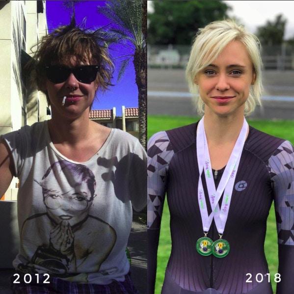 愛爾蘭正妹從「夜店玩咖→單車冠軍」!她曝光「4年驚人轉變」網全看傻:運動很重要