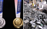 2020奧運會獎牌曝光!日本官方曝「製作材料」全是廢物超環保