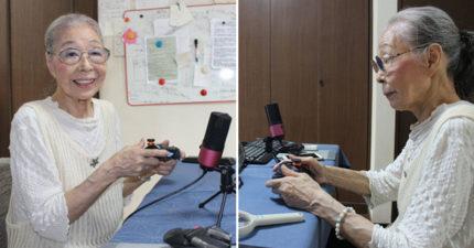 89歲實況主阿嬷「擁有10萬孫子粉」 遊戲資歷至少40年!