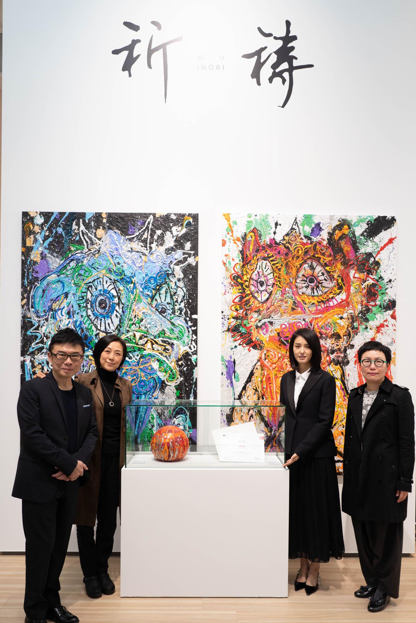 小松美羽攜手HTC VIVE、黃韻玲創作「VR互動藝術《祈禱》」 在台創作《神祈》盼藏家能公開展出