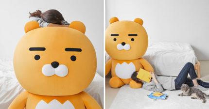 韓推出「男友版大萊恩」陪你過冬 超巨「156公分」夜晚再也不孤單!