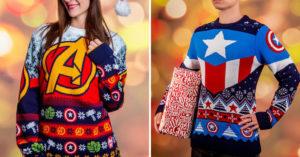 漫威迷必搶「超級英雄醜毛衣」過聖誕 「鋼鐵人款」竟然還有手套!