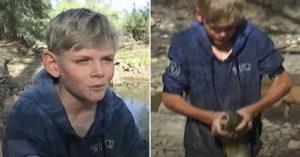 小男童怕魚沒呼吸…每天放學「徒手搬百隻魚」拯救生命 人類都要感謝他!