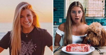 影/素食主義網紅挑戰「30天純肉飲食」 她大讚「身體變好」被粉絲罵爆!
