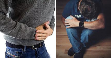 27歲男「被女友輕拍一下」突然腹部劇痛 照X光驚見「內臟移位」醫生也嚇傻!
