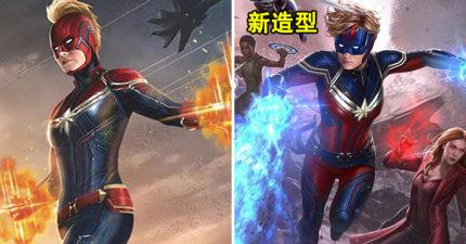驚奇隊長曝光「電影新髮型」獲一致好評 甩掉「鹹蛋超人頭盔」變超帥氣!