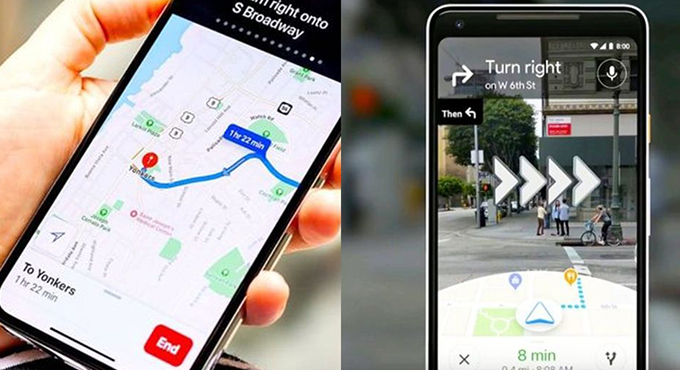 路痴救星登場!Google Maps+「AR功能」箭頭直接出現在你眼前
