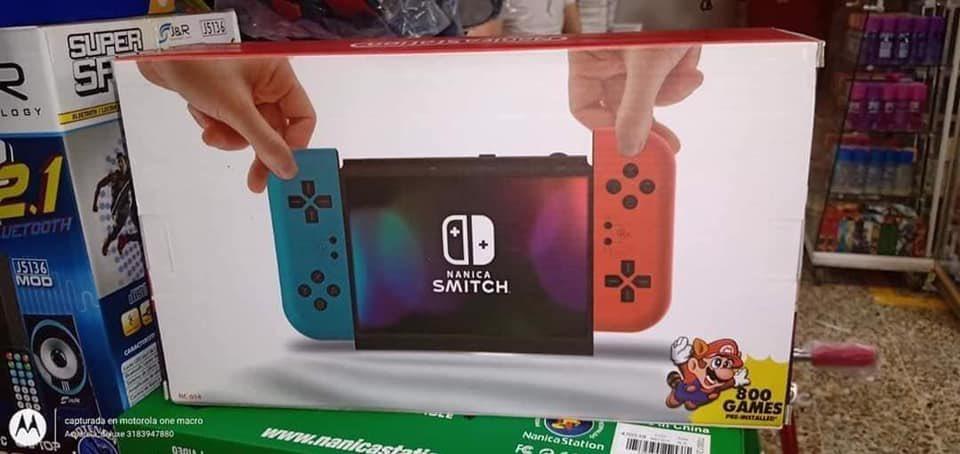 山寨Switch流出!相似度超高「質感差一大截」連遊戲都是1990年款