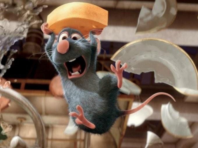 他買滷味驚見「料理鼠王」大喇喇偷吃 網友見「超大一隻」嚇傻:戒滷味了