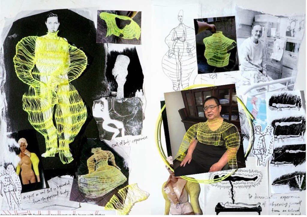 設計師用「3D畫筆」畫出整件衣服 完全「沒學過服設」還挺進決賽!