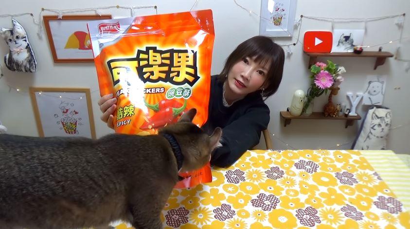 木下佑香開箱台灣味一打開驚呼「整包空氣」 網友尷尬:很不好意思
