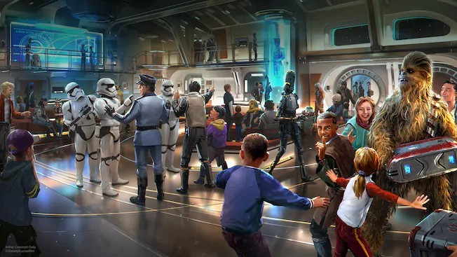迪士尼推「星際大戰主題」飯店 概念照曝光「搭發射艙入場」超酷!