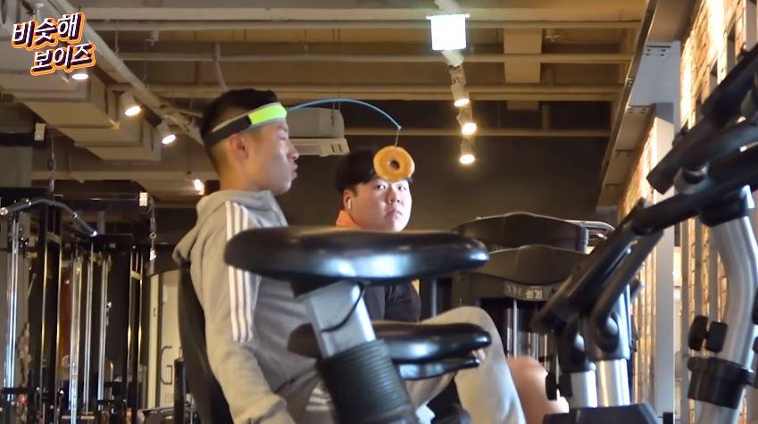 超羞恥「甜甜圈減肥法」!跑步直接「掛前面」餓到狂飆...路人全看傻眼