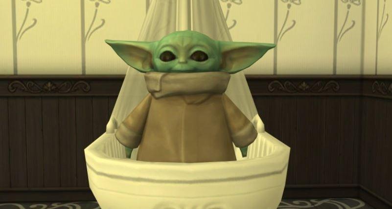 模擬市民4推出超可愛「尤達寶寶」 星戰粉超瘋玩法快把尤達寶寶玩壞...