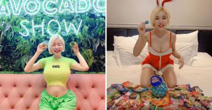 DJ Soda扮「超性感兔女郎」慶聖誕 太熱情「晃動劇烈」網全暴動