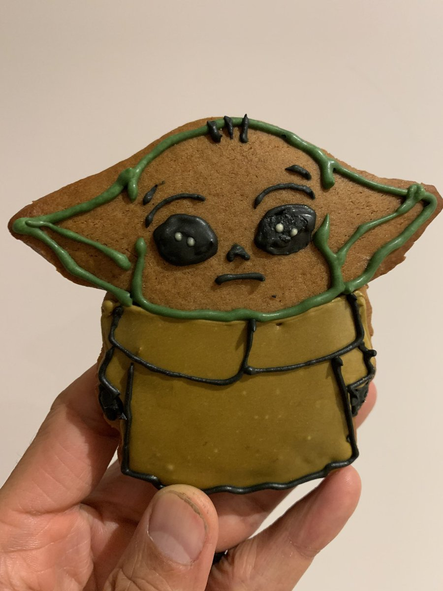 《星際大戰》完結引爆星戰熱潮 影迷瘋做「尤達寶寶餅乾」聖誕禮物GET!