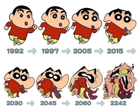 盤點10個「這些年來整形最誇張」的動漫角色 喬巴根本是重新投胎了?