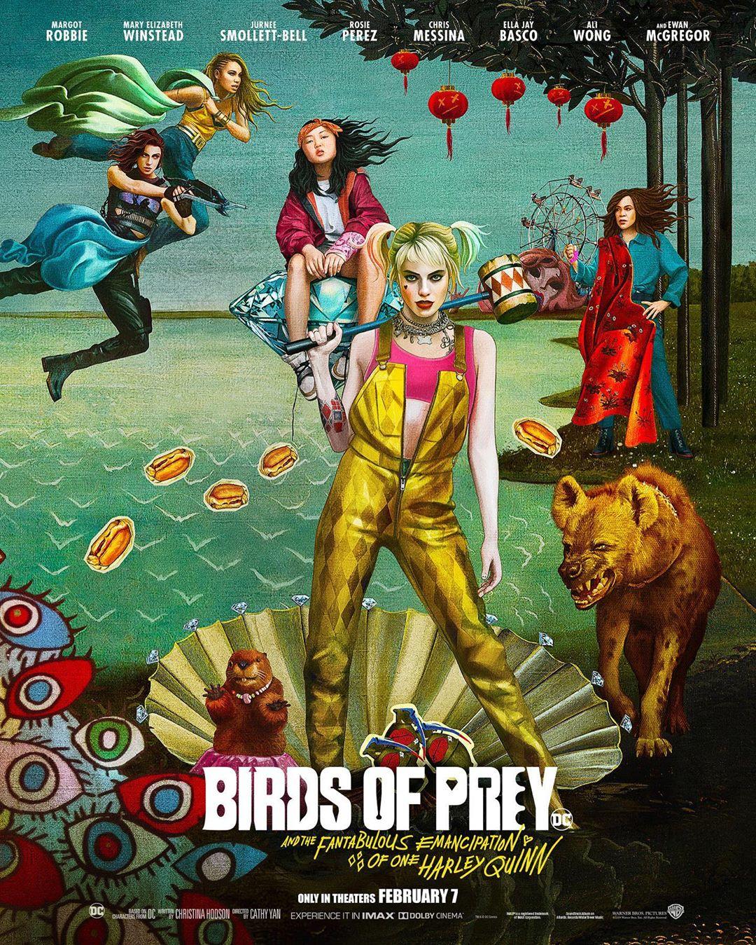 專訪/《猛禽小隊》巴西動漫展釋出「好像有梗」的最新海報