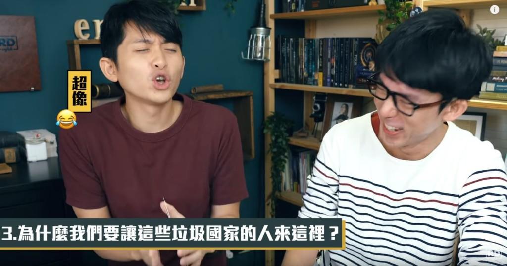 影/阿滴、博恩挑戰「政治名言翻譯」玩瘋 最後竟「模仿川普」表情神還原!