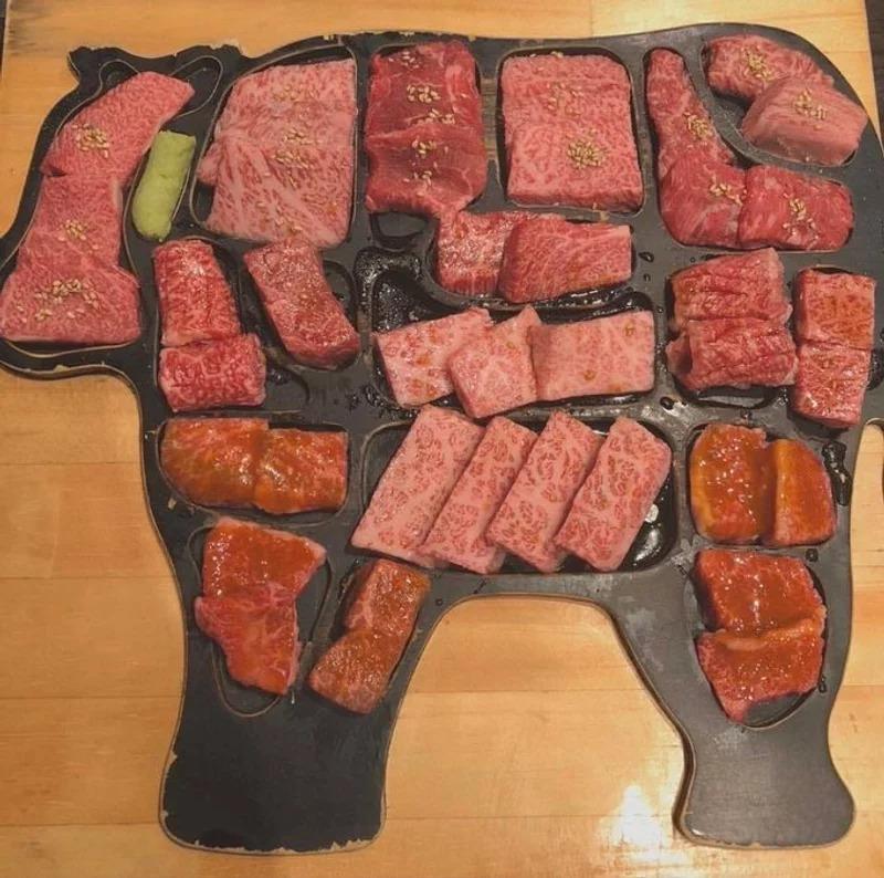每日限量10份!東京超奢華「整頭牛全部位」烤肉套餐 厚度超有誠意