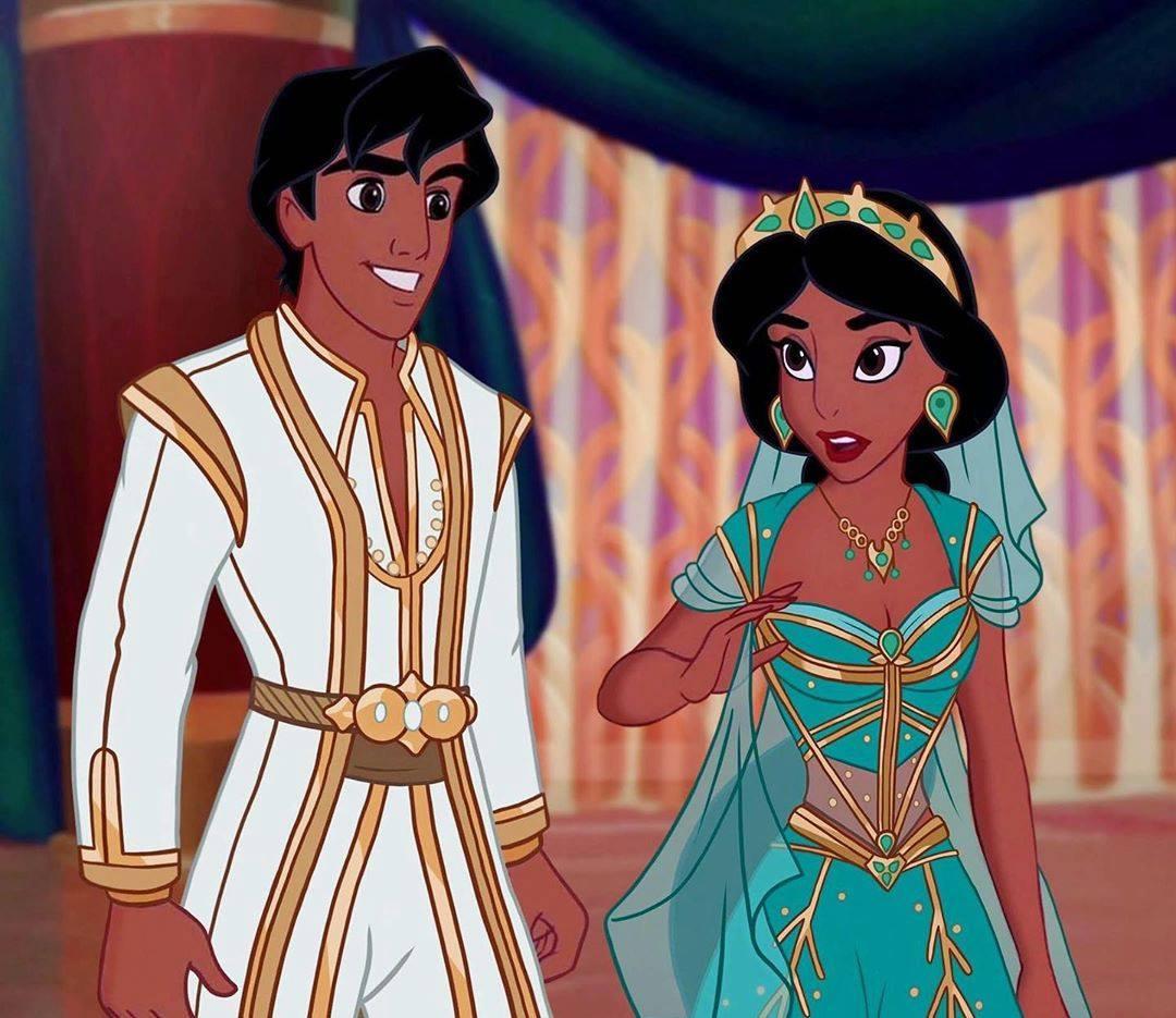 迪士尼公主穿上「真人電影版服裝」會怎樣?仙杜瑞拉的「超仙造型」美翻❤