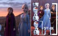 《冰雪奇緣2》秘密細節曝光!雪寶身高竟有「162公分」艾莎根本是巨人