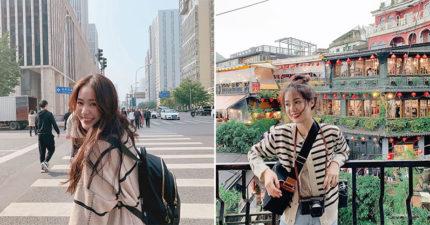 透明系「泰國仙女網紅」氣質超甜美 空靈「台灣旅遊照」狂吸4百萬粉!