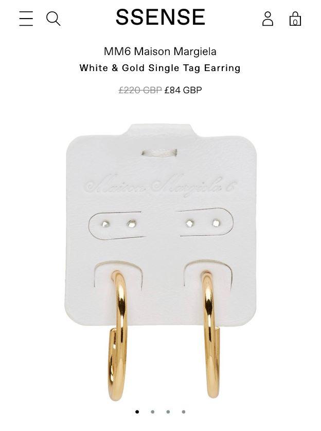 外國品牌推出超獵奇「紙卡耳環」 一隻耳朵就掛「1副耳環+紙卡」