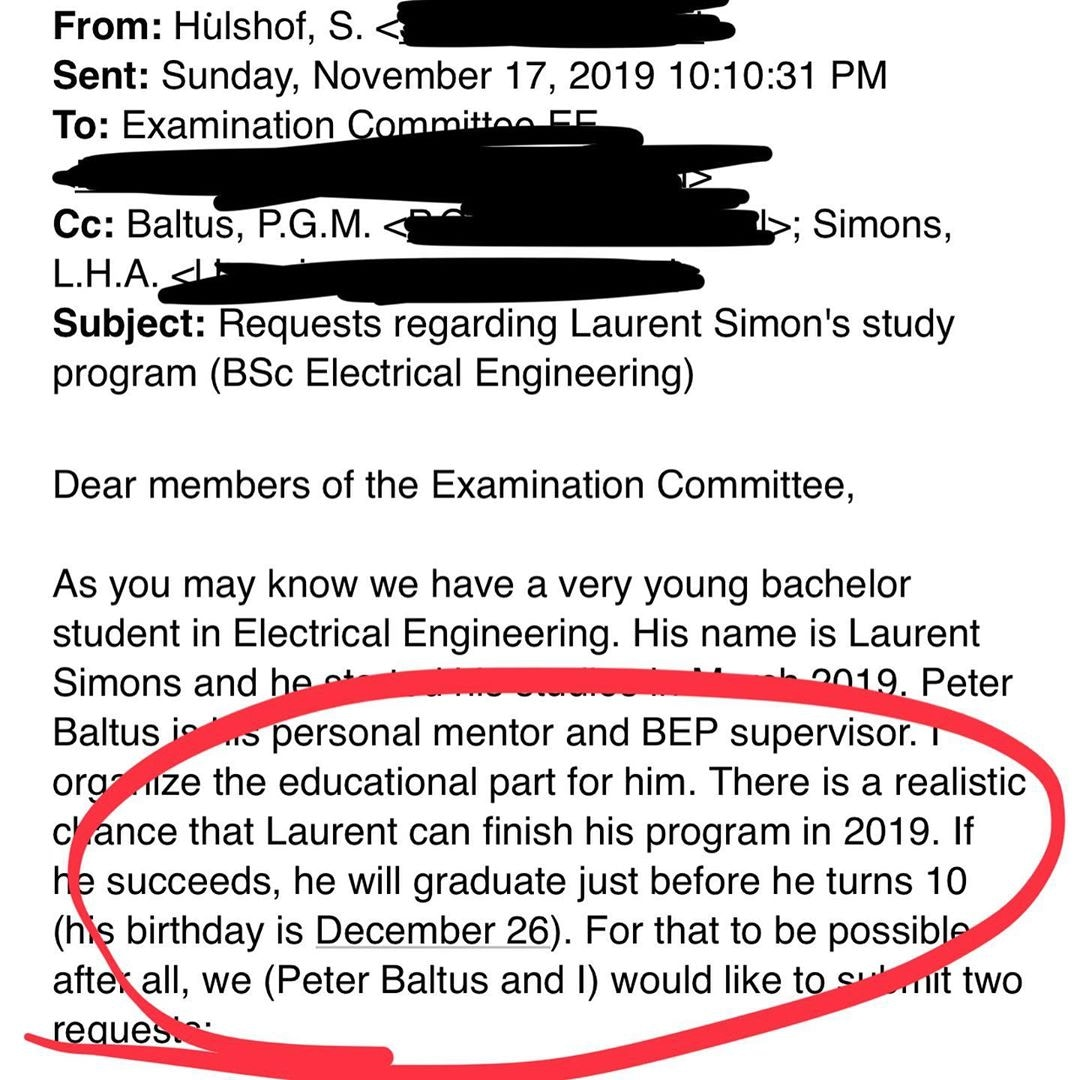 天才小神童要求「10歲生日前大學畢業」被拒絕 他「氣到退學」直接讀博士!