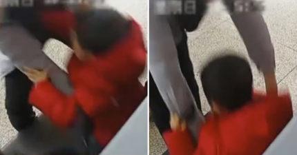 影/糊塗爸「把兒子當行李」放進X光機檢查 背後原因曝光被罵爆:沒常識!