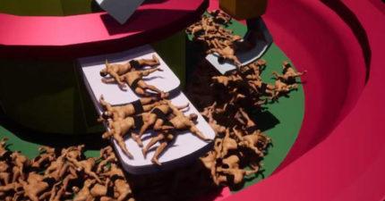 影/腦洞網友創造「打撈肌肉猛男遊戲」爆紅 「肉體被噴飛」畫面超療癒!