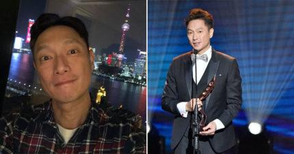 謝祖武拿「亞洲電視大獎」最佳男主角 磊哥上台喊:我來自台灣!