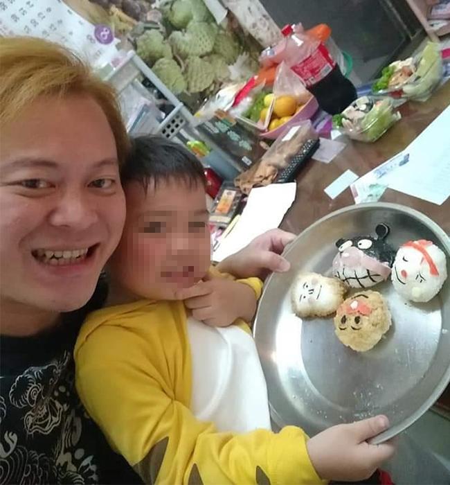 比日本主婦還誇張!超狂爸「手做造型便當」網友全驚呼:還缺兒子嗎?