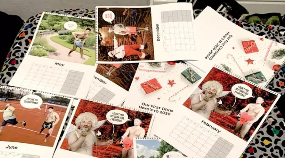 天兵男做「自己的性感年曆」送女友當驚喜 手誤下單100本...只好拿來賣!