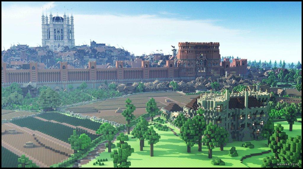 8個《當個創世神》裡的巔峰神作 建出「整個北京」俯瞰圖真的太變態!