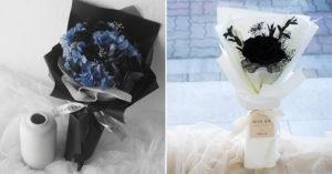 酷酷女也愛的「黑色玫瑰花」成流行 「超霸氣花語」韓歐巴搶送女友示愛!