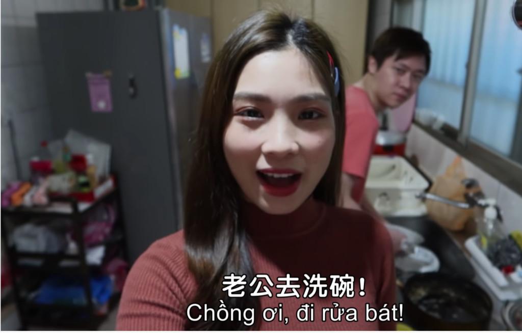 影/越籍台灣媳婦「使喚老公做家事」語氣超酥 用越語「叫老公按摩」必學!