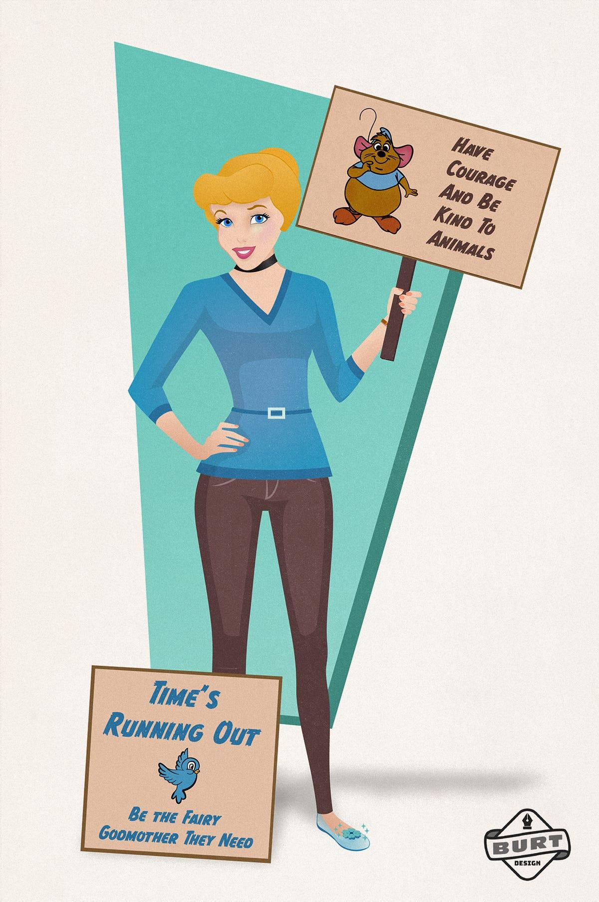 迪士尼公主「在現代工作」穩賺不賠 「冰雪姊妹」超適合當氣候專家!