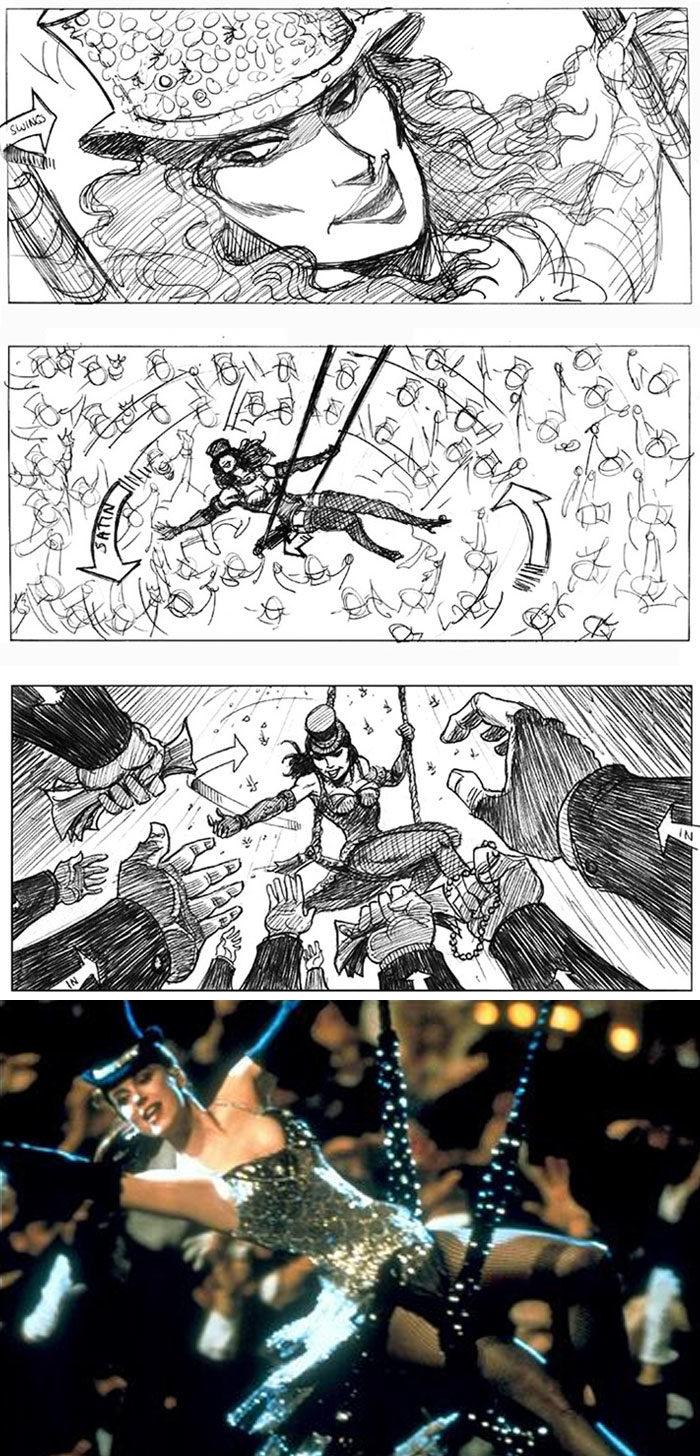 23張「電影分鏡圖VS劇照」的對比圖 《蜘蛛人2》細節比想像的更驚人!