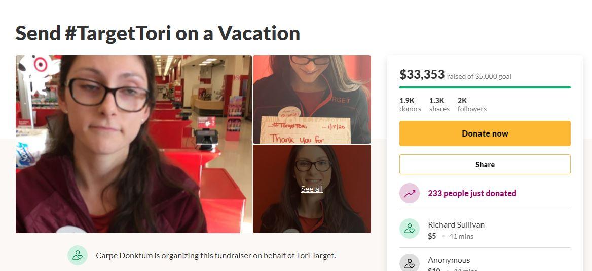 心疼店員被奧客煩!好心人發起募款「目標15萬」送她出去玩:快達標了