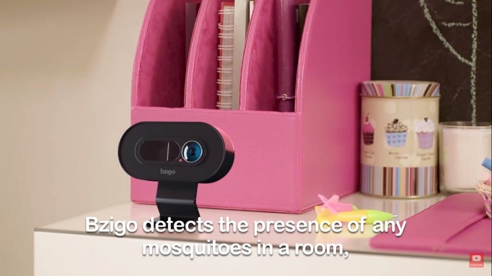 史上第一台「蚊子追蹤機」360度定位 8公尺內「雷射光線」通知主人!