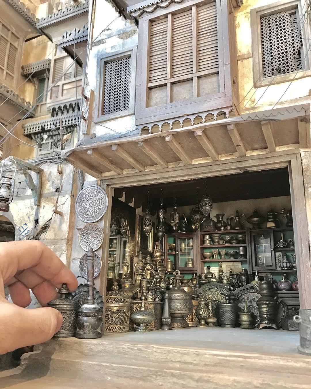 藝術家把「家鄉美景」全部手作還原 打造「縮小版敘利亞」一磚一瓦都有戲!
