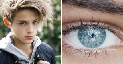 「地表最帥正太」長大了!16歲少年「藍寶石雙眼」比漫畫主人公更夢幻❤