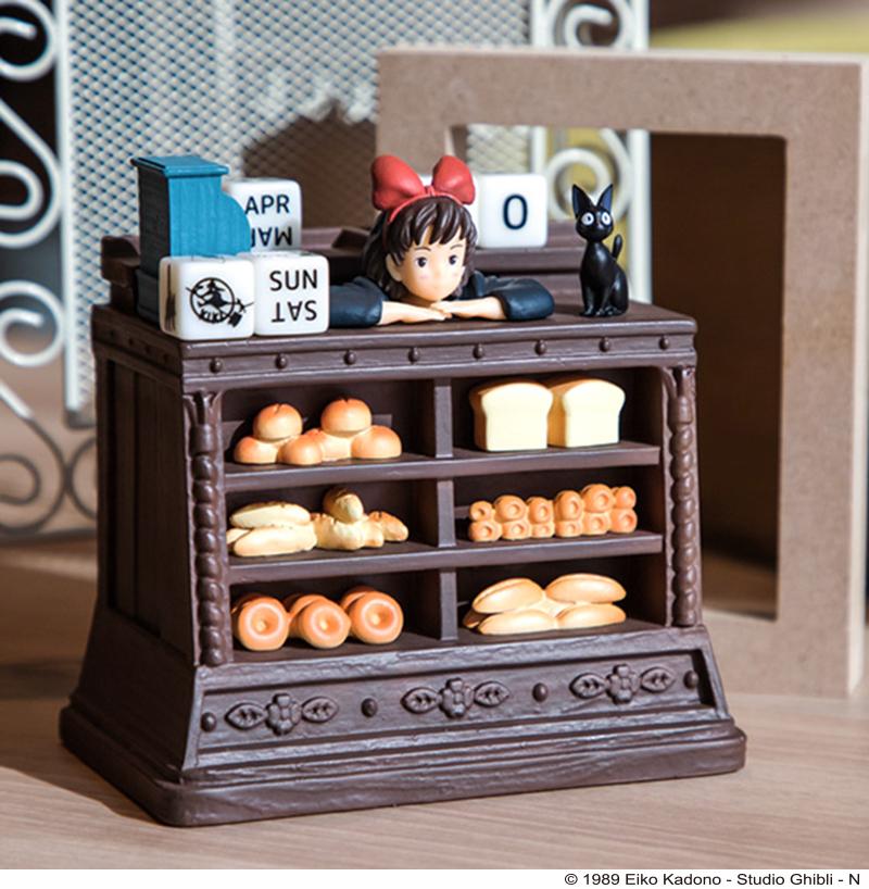 日本推出吉卜力「經典場景萬年曆」結合公仔 骰子設計超有巧思!