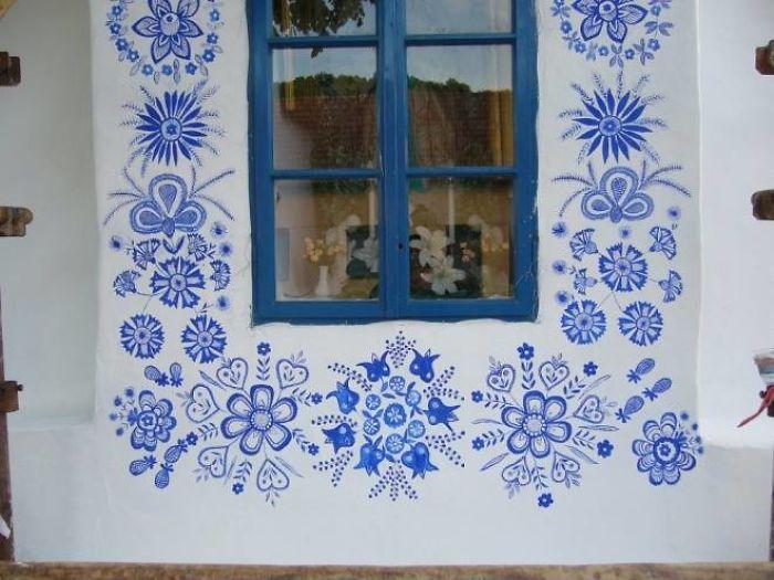 90歲奶奶把「村莊→藝術館」被讚爆 超強「壁畫天分」驚人成品曝光!