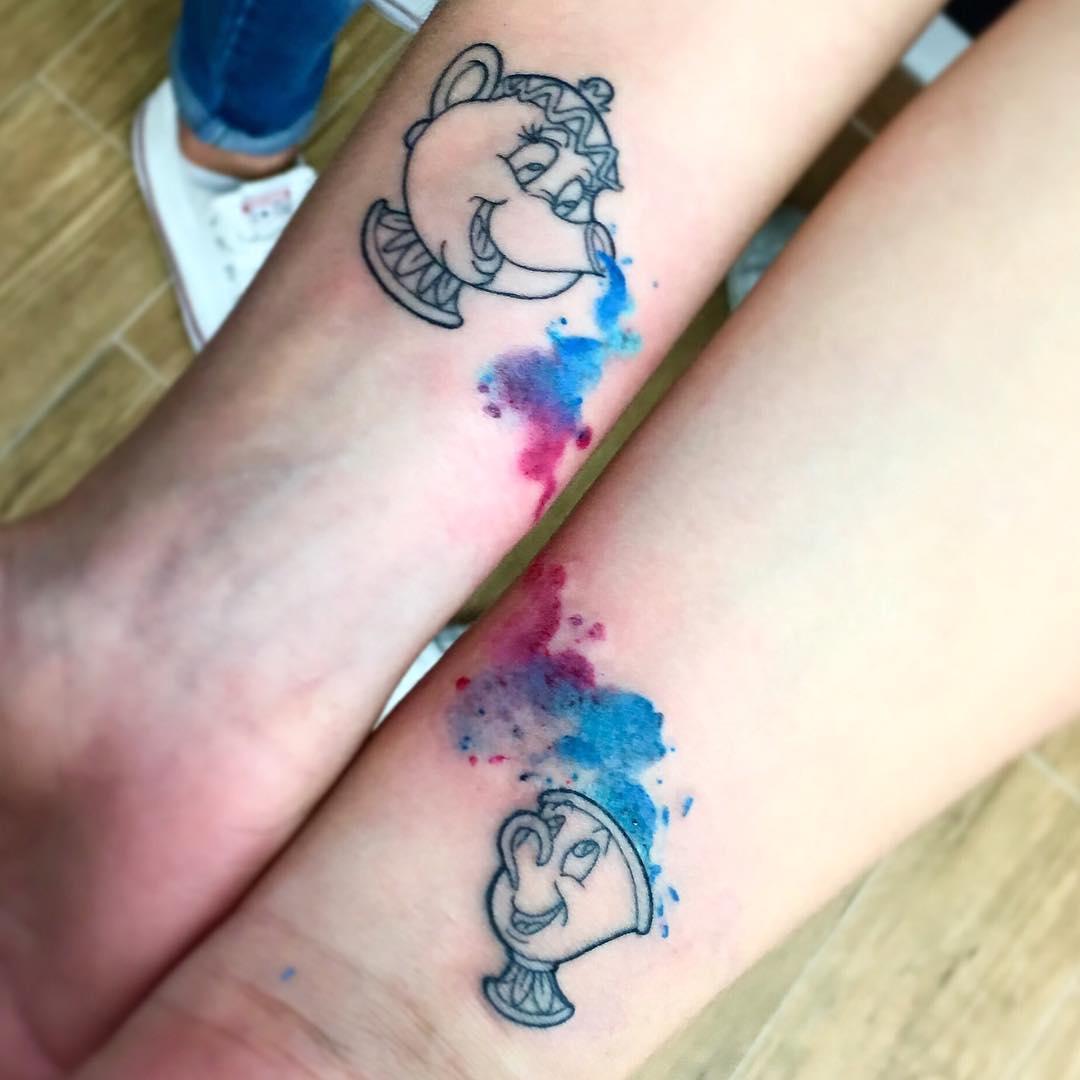 15個「有一對才有意義」的超甜蜜呼應紋身 我跟你就是「小王子與狐狸」❤