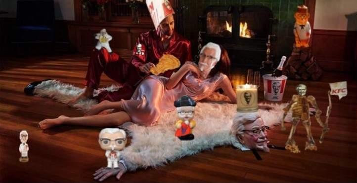 肯德基舉辦「爺爺地毯P圖大賽」成果太好笑 網友神還原《阿拉丁》魔毯!