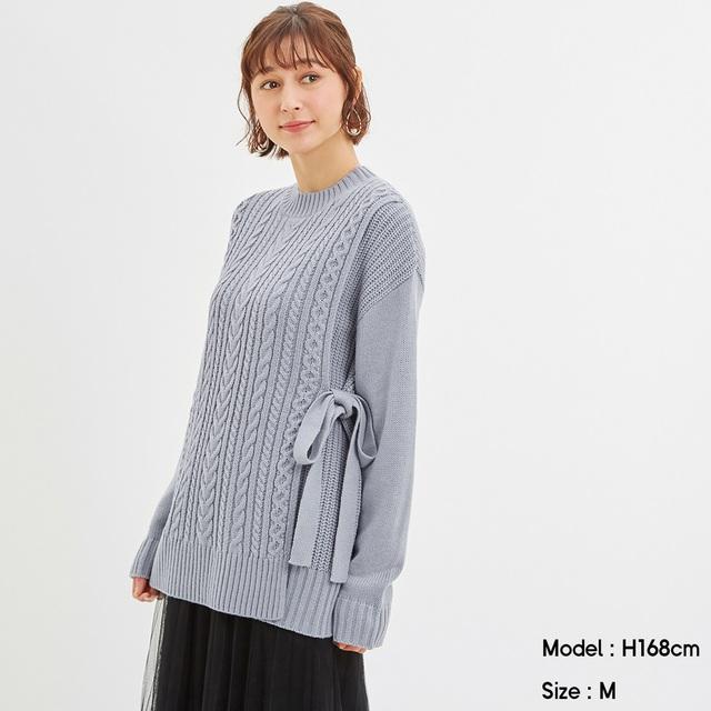 GU推出「童貞殺毛衣」看似無害 綁帶解開「就可戰鬥」網暴動:太犯規!