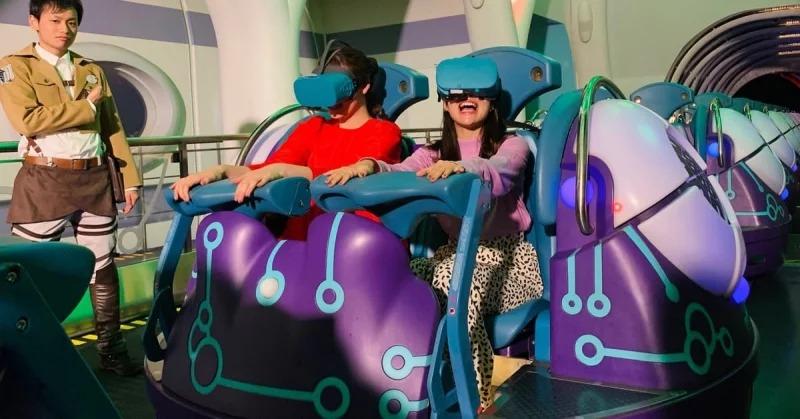 影/環球影城推《進擊的巨人》飛車!VR打造真實「空中飛躍感」粉絲必玩
