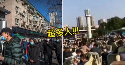 中國政府「宣布復工」!人民以為「疫情解除」塞爆旅遊景點 同桌爽吃喝